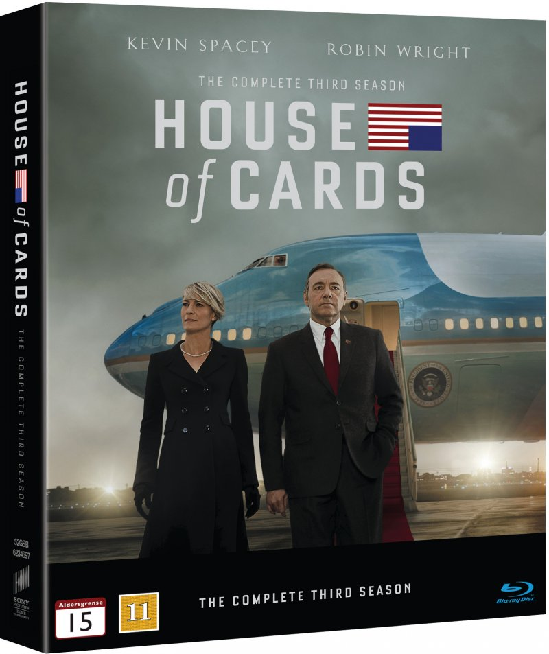 Image of   House Of Cards - Sæson 3 - Blu-Ray - Tv-serie