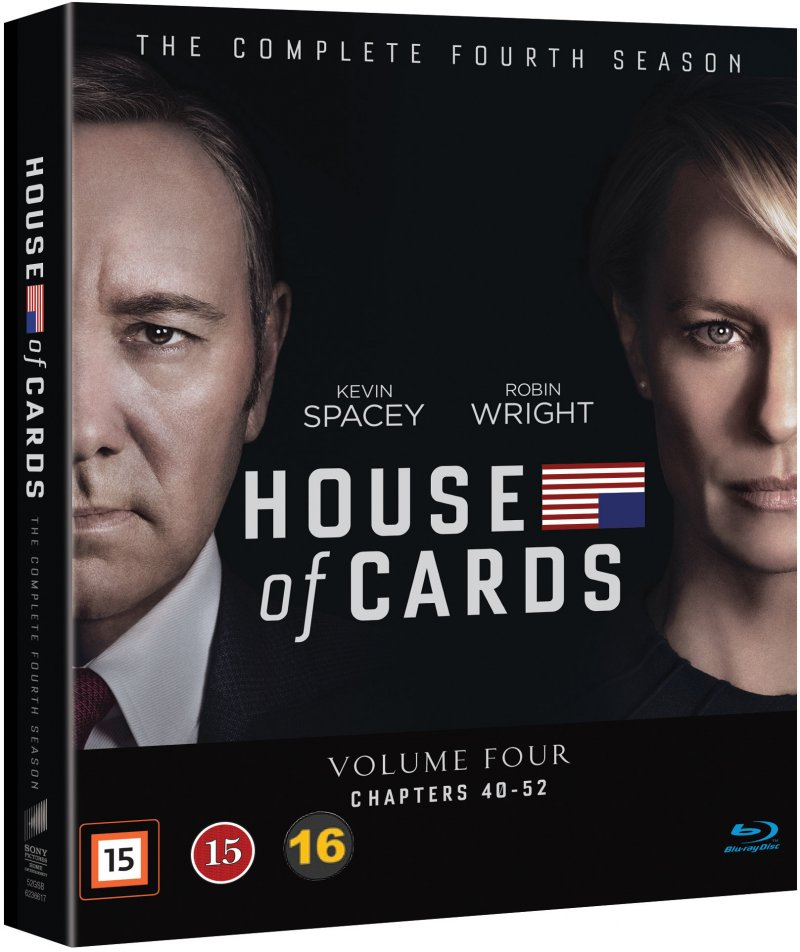 Image of   House Of Cards - Sæson 4 - Blu-Ray - Tv-serie