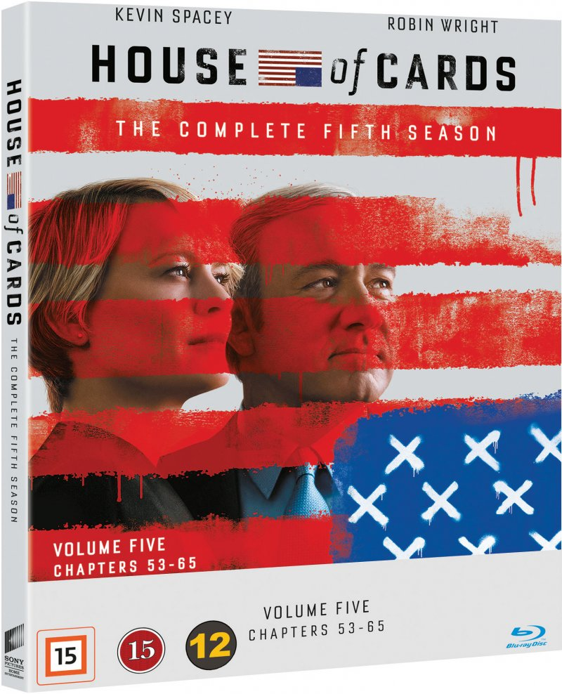 Image of   House Of Cards - Sæson 5 - Blu-Ray - Tv-serie