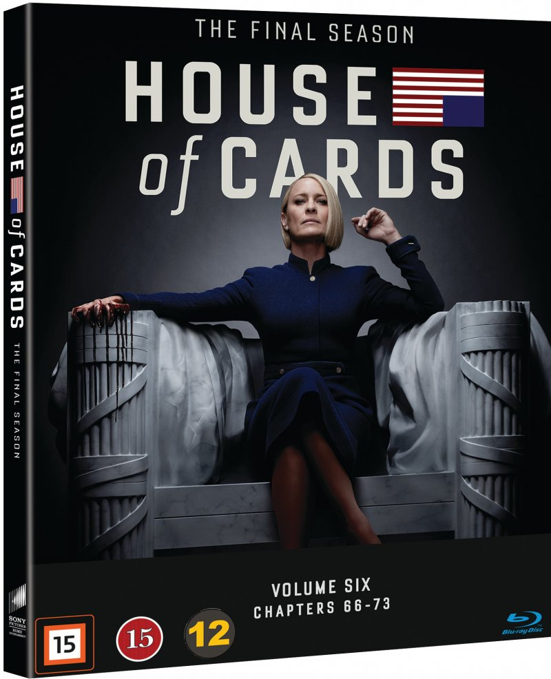 Image of   House Of Cards - Sæson 6 - Blu-Ray - Tv-serie