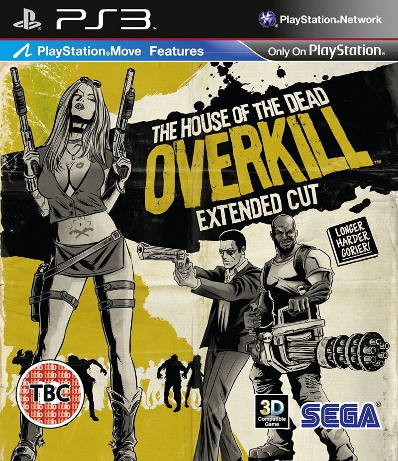 Image of   House Of The Dead: Overkill - Extended Cut - PS3