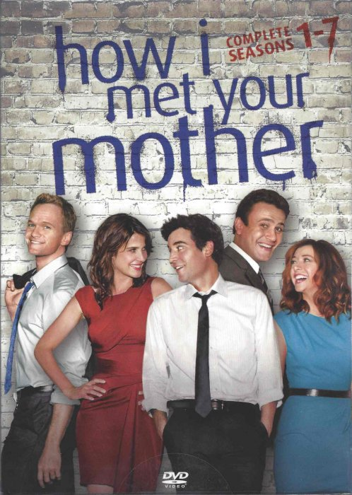 How I Met Your Mother - Sæson 1-7 - DVD - Tv-serie