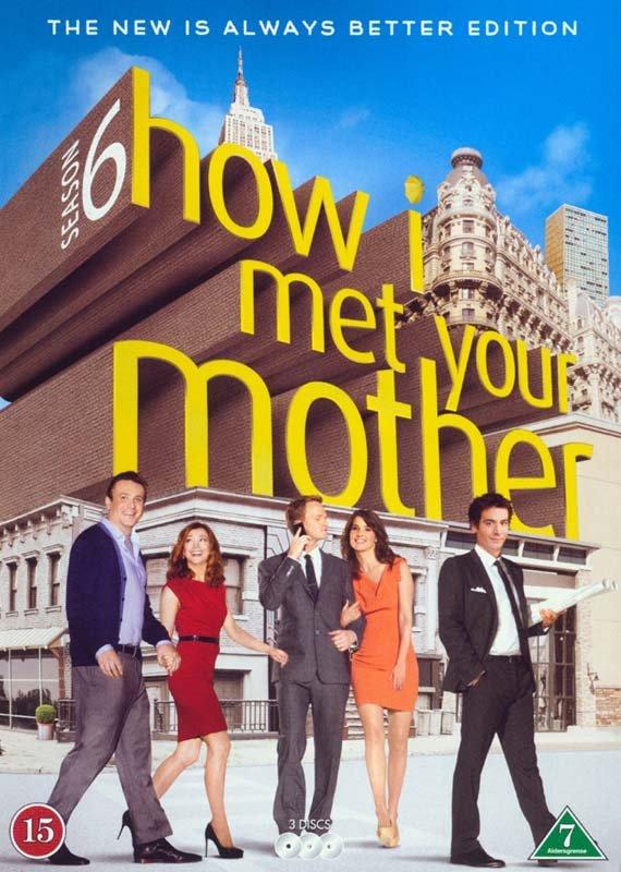 Billede af How I Met Your Mother - Sæson 6 - DVD - Tv-serie