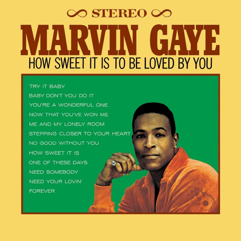Image of   Marvin Gaye - How Sweet It Is To Be Loved By You - Vinyl / LP