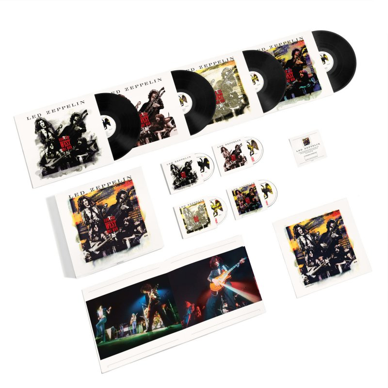 Led Zeppelin - How The West Was Won (super Deluxe Box-set) - CD