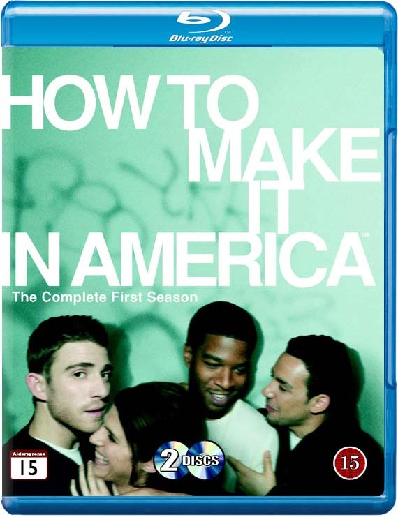 Image of   How To Make It In America - Sæson 1 - Hbo - Blu-Ray - Tv-serie