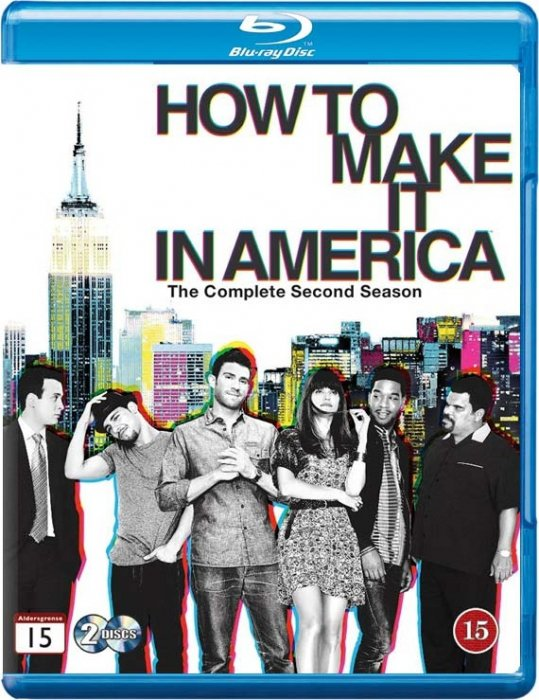 Image of   How To Make It In America - Sæson 2 - Hbo - Blu-Ray - Tv-serie