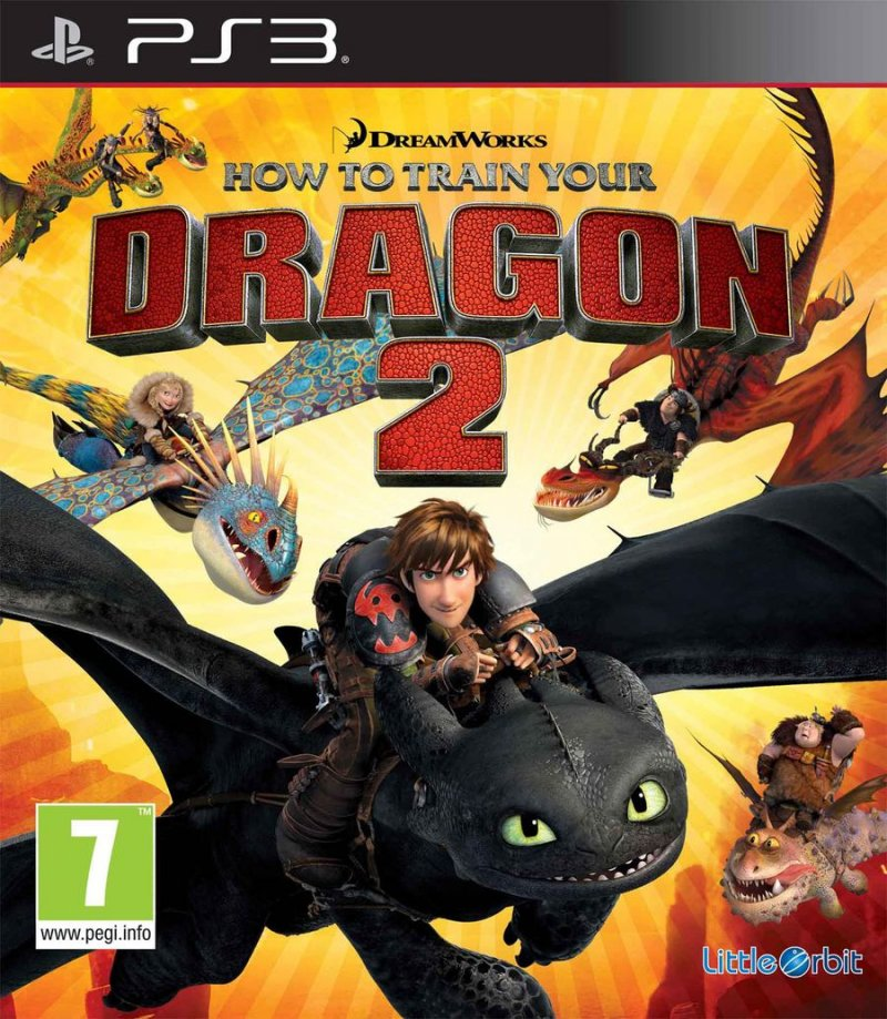 How To Train Your Dragon 2 (import) - PS3