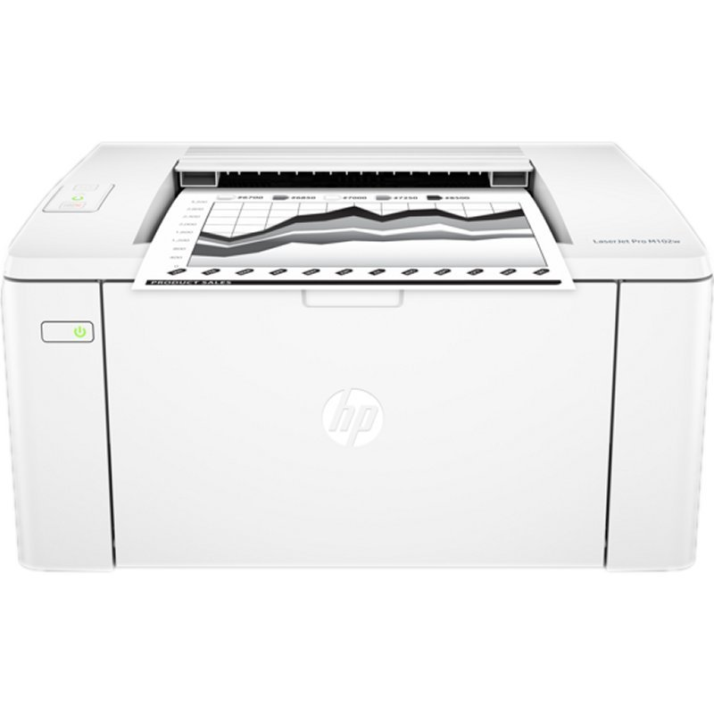 Image of   Hp Hewlett Packard Laserjet Pro Printer M102w Med Wifi