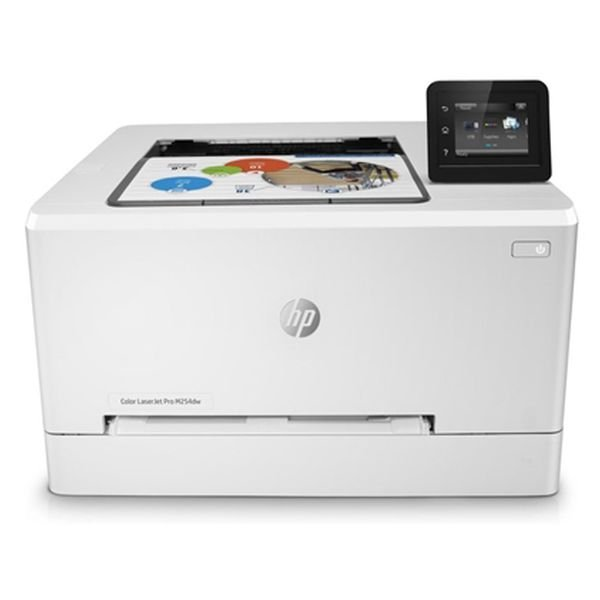 Image of   Hp Hewlett Packard Printer - M254dw - Farver Usb Lan