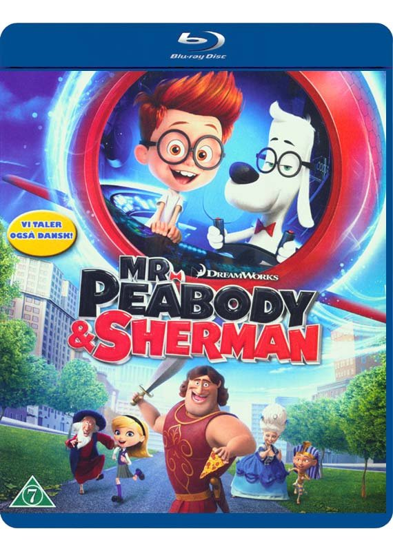 Image of   Mr. Peabody And Sherman - Blu-Ray