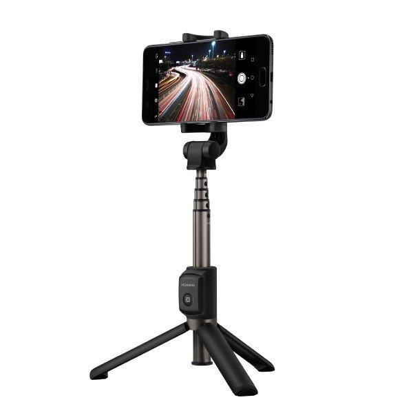 Image of   Huawei - Bluetooth Selfie Stang Og Tripod Med Udløser - Forlængbar