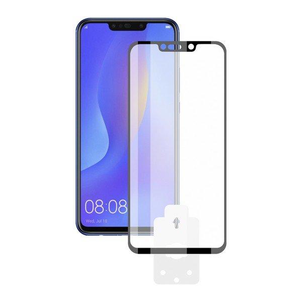Image of   Huawei Mate 20 Lite - Hærdet Glas Beskyttelse - 9h - Sort