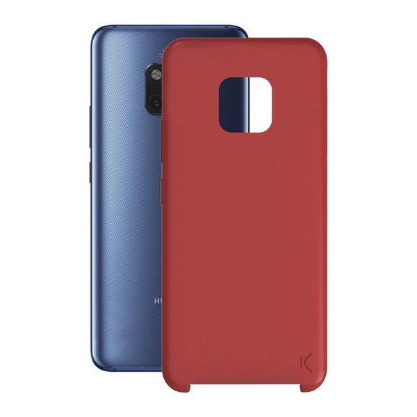 Image of   Huawei Mate 20 Pro - Cover - Blød Rød Silikone
