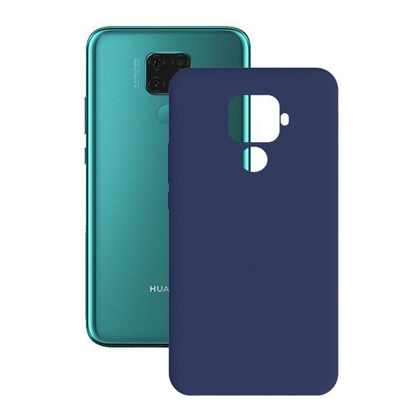 Image of   Huawei Mate 30 Lite - Cover - Blå
