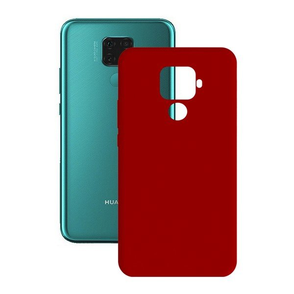 Image of   Huawei Mate 30 Lite - Cover - Rød