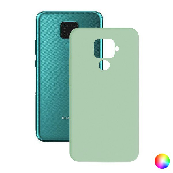 Image of   Huawei Mate 30 Lite - Cover - Turkisblå