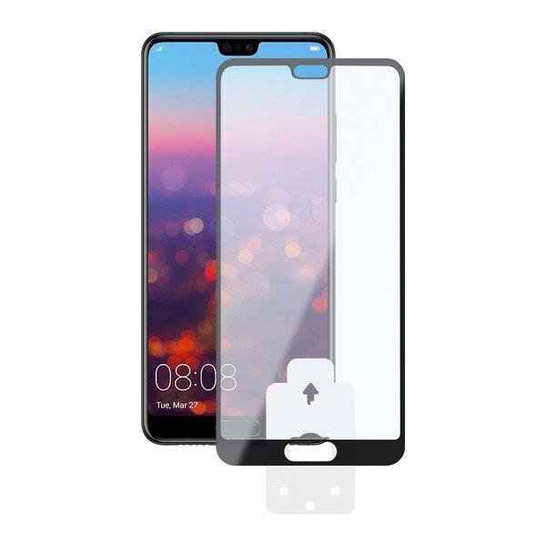 Image of   Huawei P20 Lite - Hærdet Glas Beskyttelse - 9h - 0,3 Mm - Sort