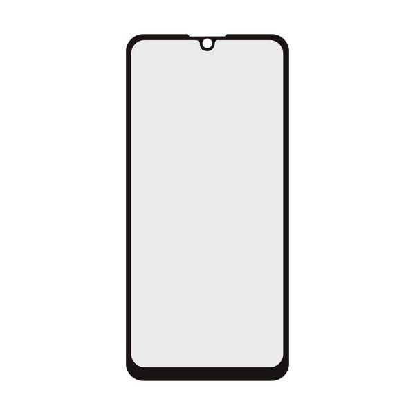 Image of   Huawei P30 - Hærdet Glas Beskyttelse - 9h - 0,3 Mm - Sort