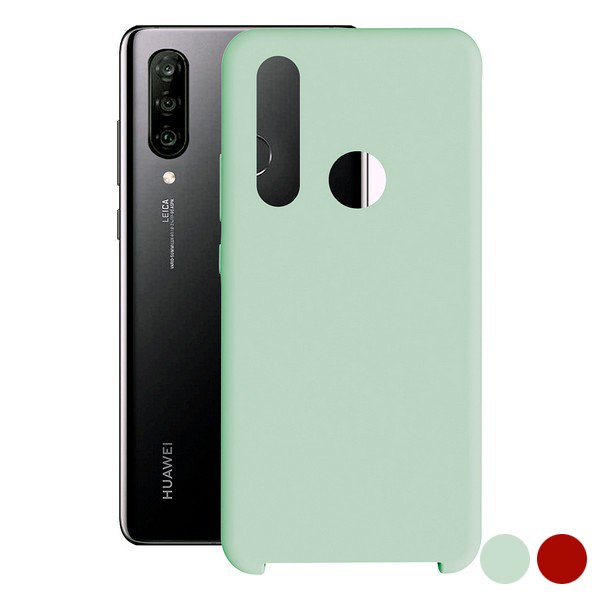 Image of   Huawei P30 Lite - Cover - Blød Turkis Blå