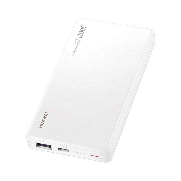 Image of   Huawei Powerbank Med 12.000 Mah - Usb-c - Hvid