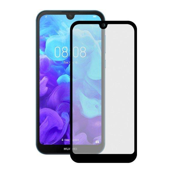 Image of   Huawei Y5 2019 - Hærdet Glas Beskyttelse - 9h - Sort
