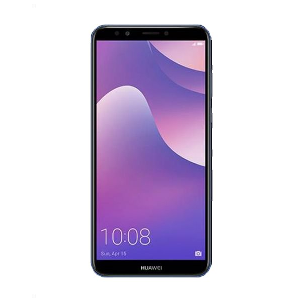 "Image of   Huawei Y7 2018 Mobiltelefon - 5,99"" Display - 16mp Kamera - 16gb Plads - Blå"