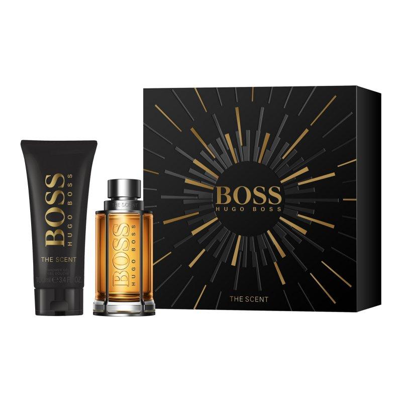 Image of   Hugo Boss Parfume - The Scent Edt 50 Ml + Shower Gel 100 Ml - Gavesæt