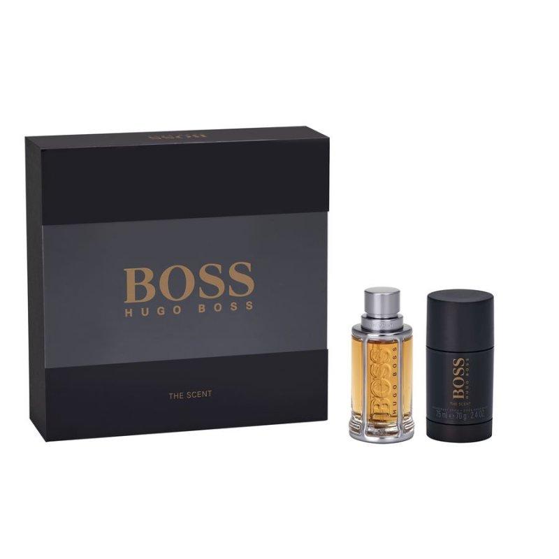 Image of   Gaveæske: Hugo Boss The Scent Eau De Toilette 50 Ml & Deo Stick 75 Ml.