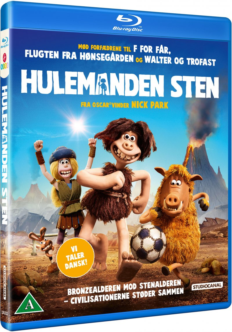 Image of   Hulemanden Sten / Early Man - Blu-Ray