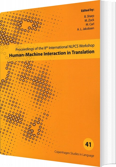 Billede af Human-machine Interaction In Translation - Csl 41 - B. Sharp - Bog