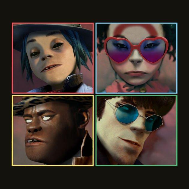 Image of   Gorillaz - Humanz - CD