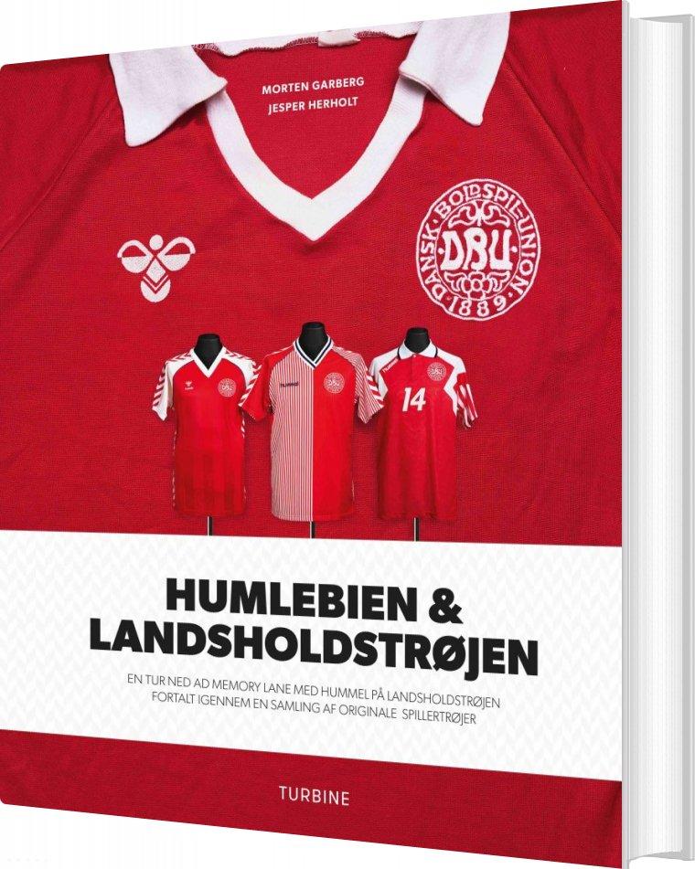 Billede af Humlebien & Landsholdstrøjen - Jesper Herholt - Bog