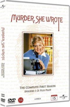 Image of   Hun Så Et Mord - Sæson 1 - DVD - Tv-serie