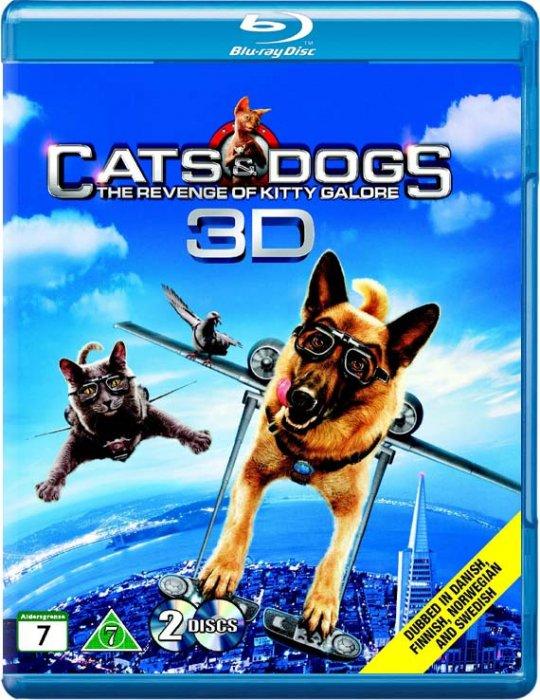 Image of   Hund Og Kat Imellem 2 - 3D Blu-Ray