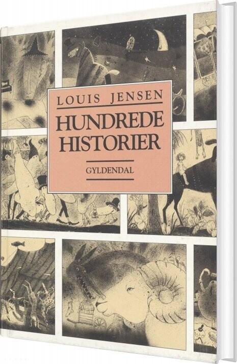 Image of   Hundrede Historier - Louis Jensen - Bog