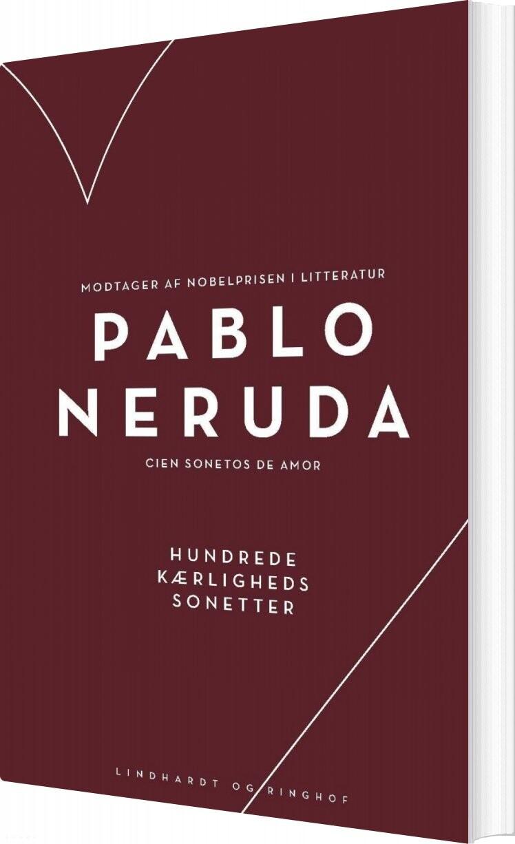 Hundrede Kærlighedssonetter - Pablo Neruda - Bog