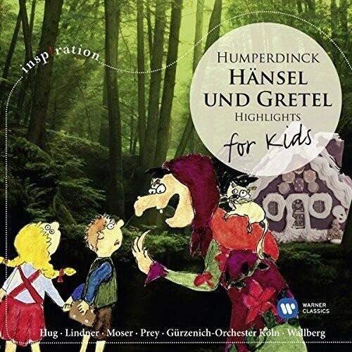Billede af Hänsel Und Gretel Highligts  - For Kids - Hunperdinck - CD