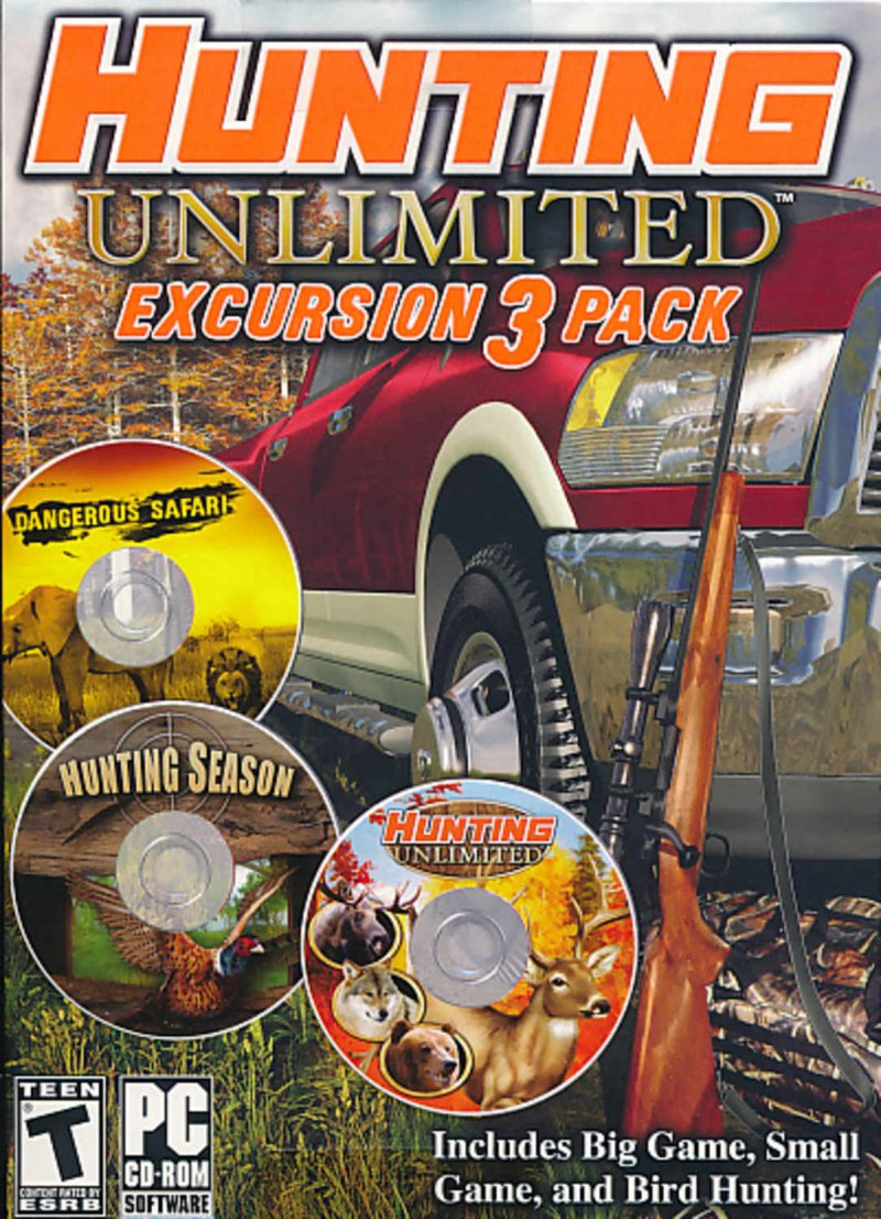 Image of   Hunting Unlimited Excursion 3 Pack - PC
