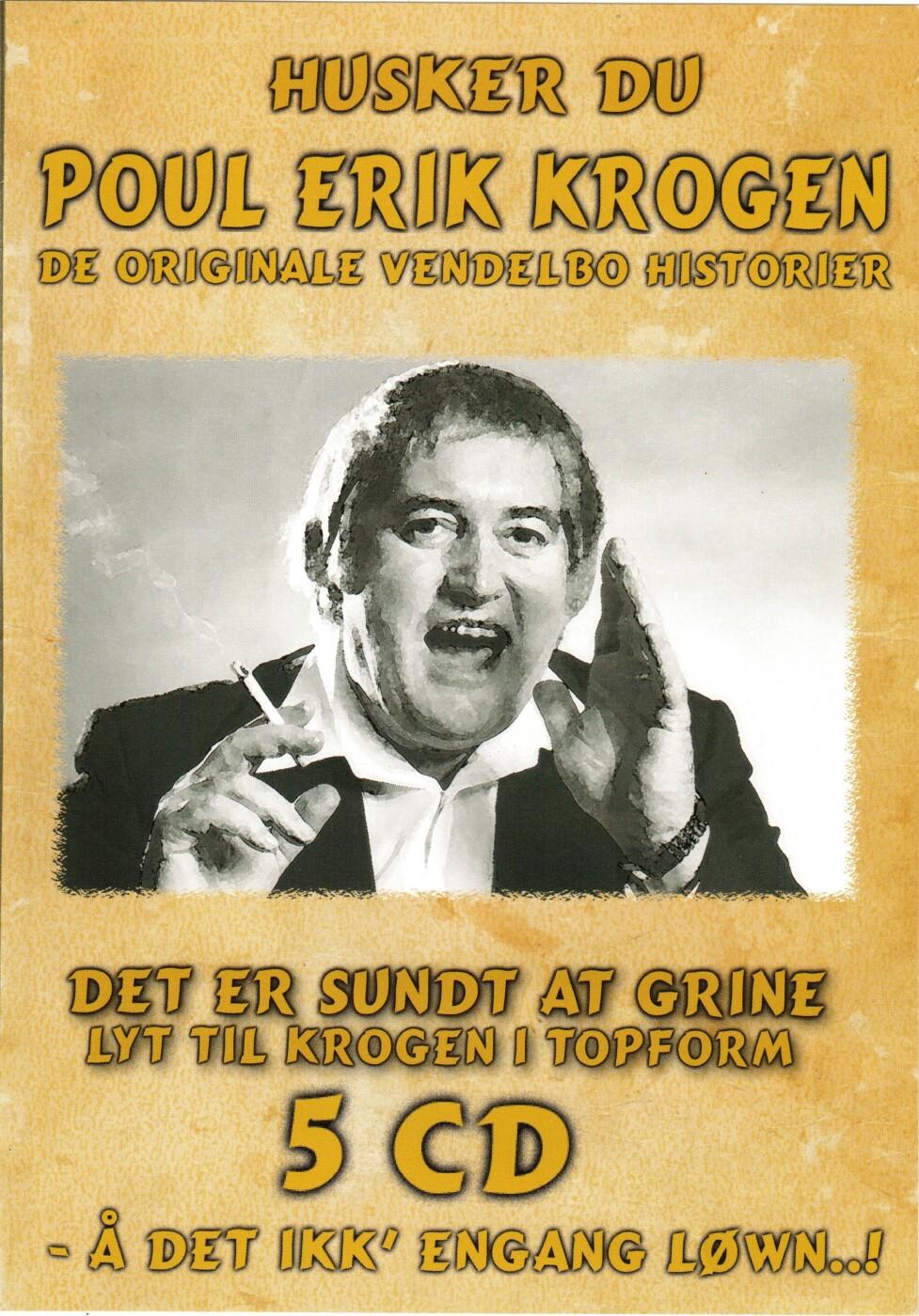 Billede af Poul Erik Krogen - Husker Du Poul Erik Krogen - De Originale Vendelbo Historier - CD