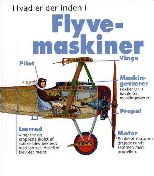 Image of   Hvad Er Der Inden I Flyvemaskiner - David West - Bog