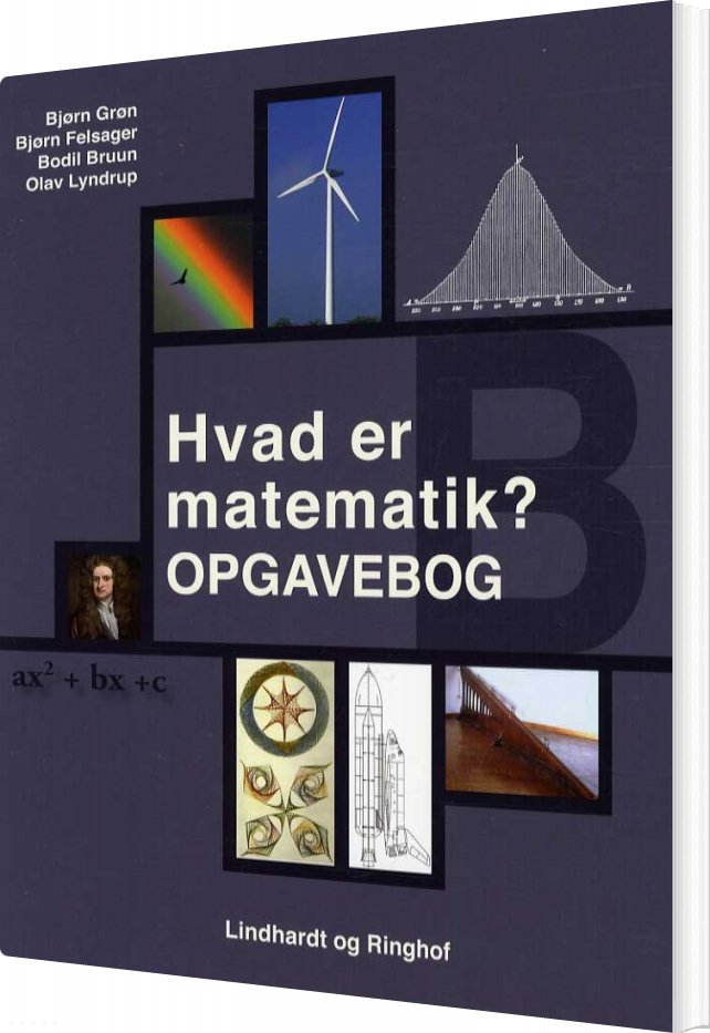 Billede af Hvad Er Matematik? B, Opgavebog - Bjørn Felsager - Bog