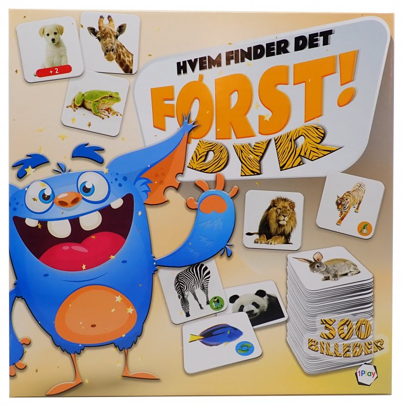 Image of Hvem Finder Det Først? Dyr