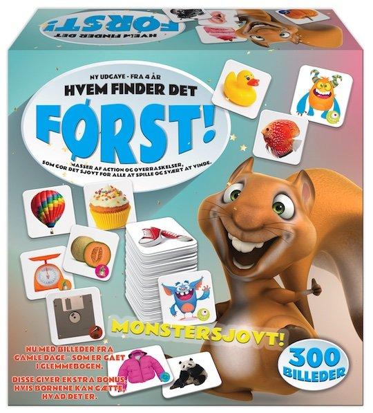 Image of Hvem Finder Det Først? - Spil