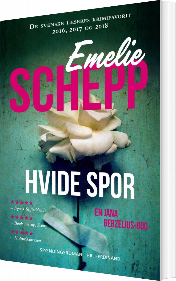 Image of   Hvide Spor - Emelie Schepp - Bog