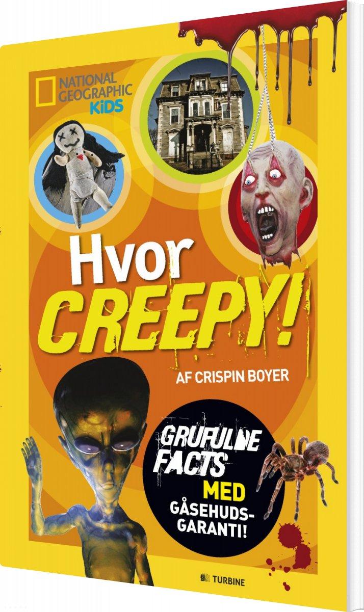 Billede af Hvor Creepy! - Crispin Boyer - Bog