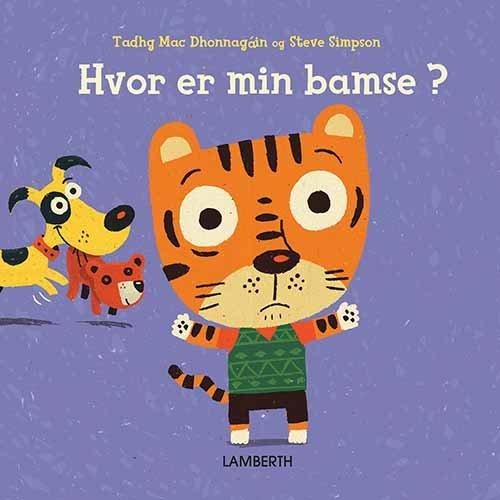 Hvor Er Min Bamse? - Tadhg Mac Dhonnagain - Bog
