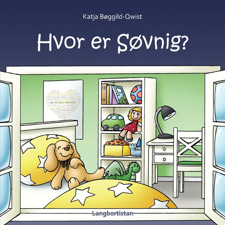 Image of   Hvor Er Søvnig? - Katja Bøggild-qwist - Cd Lydbog