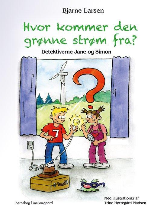 Billede af Hvor Kommer Den Grønne Strøm Fra? - Bjarne Larsen - Bog