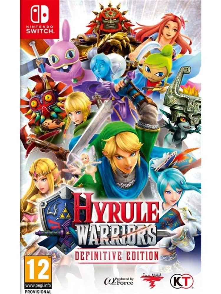 Image of   Hyrule Warriors: Definitive Edition - Nintendo Switch